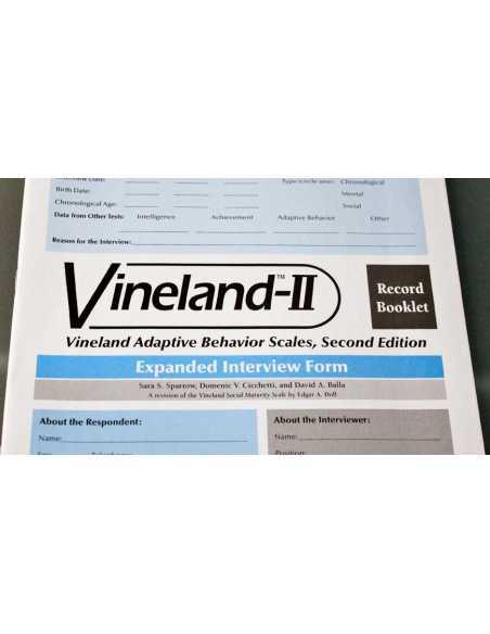 Escala de Habilidades Adaptativas Vineland II: Entrenamiento en administración, puntuación y análisis.
